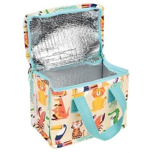 Eco Friendly Animal Design Woven Thermal Cool Bag Lunch Bag Box School/Leisure 14x20x15cm